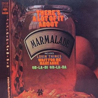 marmalade lp there's a lot of it about cbs japan front