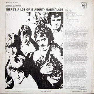 marmalade lp there's a lot of it about cbs uk mono back