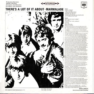 marmalade lp there's a lot of it about cbs uk stereo back