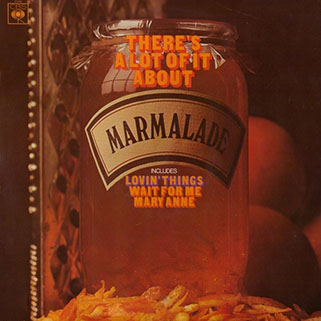 marmalade lp there's a lot of it about cbs uk stereo front