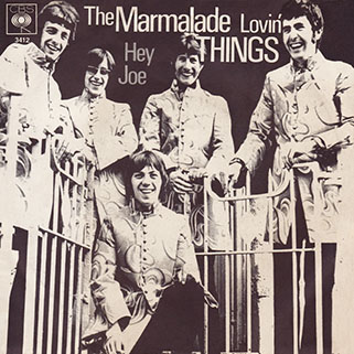 marmalade single cbs germany lovin' things - hey joe front