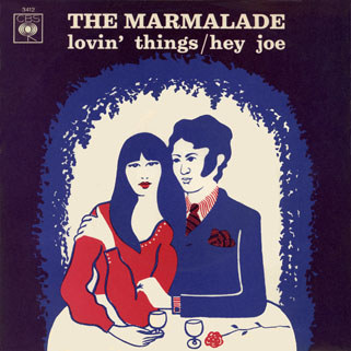 marmalade single cbs italy lovin' things - hey joe front