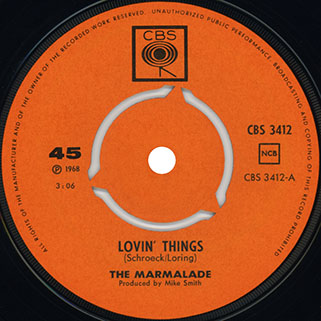 marmalade single cbs norway label lovin' things