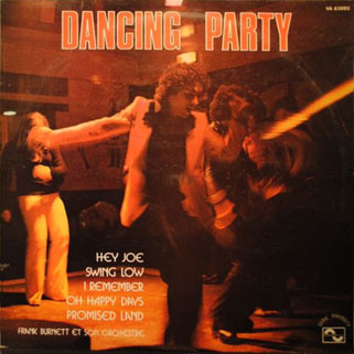 new freedom frank burnet lp dancing party front