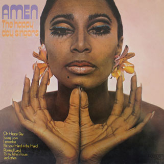 new freedom singers - happy day singers lp amen front