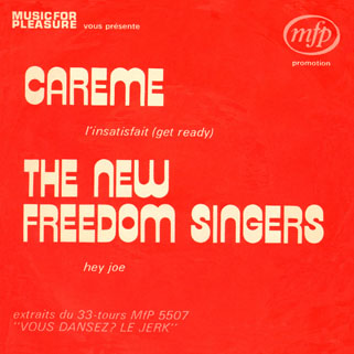 new freedom singers single front