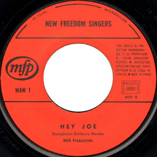 new freedom singers single label 1