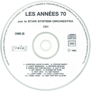 new freedom star system orchestra cd les annees 70 label 1