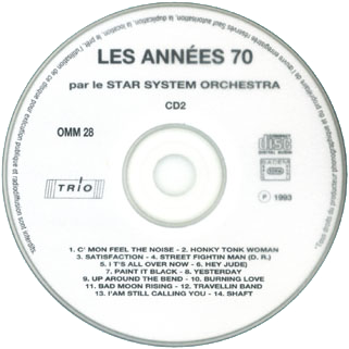 new freedom star system orchestra cd les annees 70 label 2