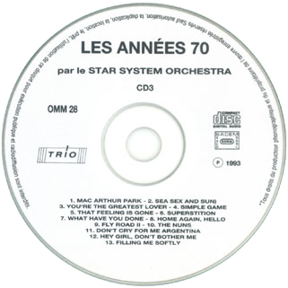new freedom star system orchestra cd les annees 70 label 3