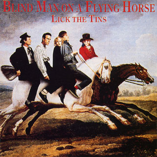 lick the tins cd blind man on a flying horse front