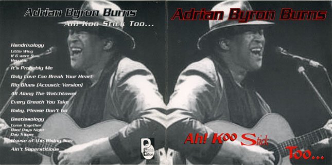 adrian byron burns cd ah koo stick too cover out