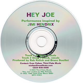 al berry cd hey joe label