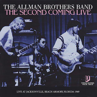 allman bros band cd second coming live front