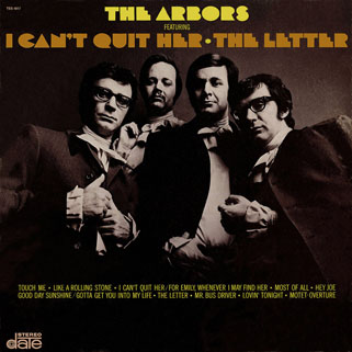 arbors lp I can'quit her front