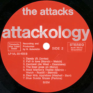 attacks lp we call it attackology label 2