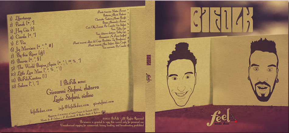 bifolk cd feel music show front back