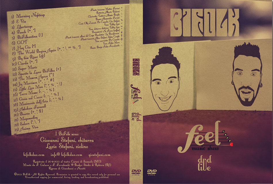 bifolk dvd feel music show front back