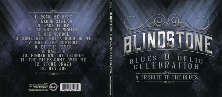blindstone blues o delic celebration cover out