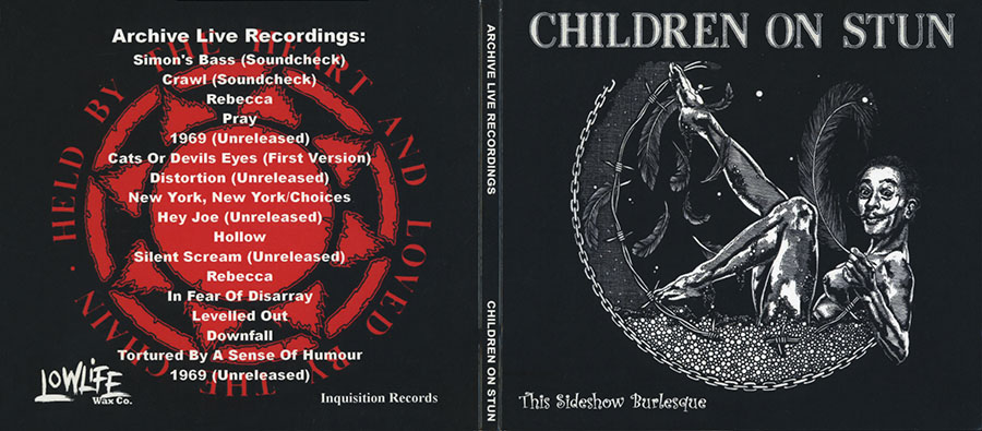 children on stun cd this sideshow burlesque cover out