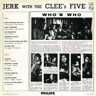 clee's five lp jerk with back cover