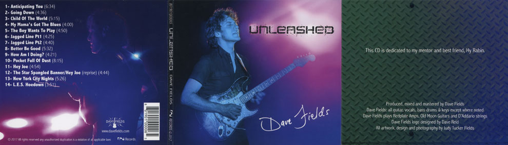 dave fields cd unleashed cover out