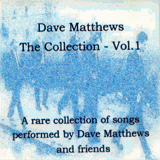 dmb rare collection vol 1 front