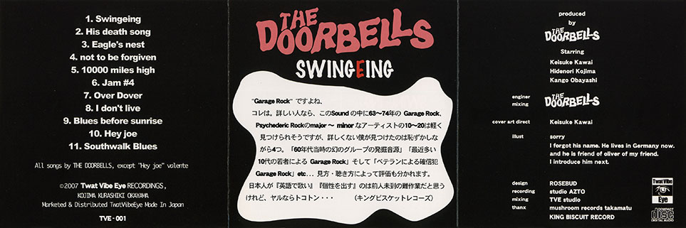 doorbells cd swingeing hey joe cover in