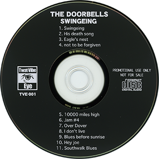 doorbells cd swingeing hey joe label