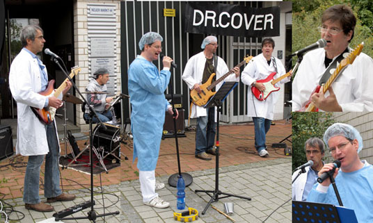 dr cover band picture