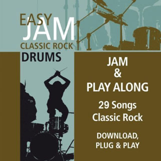 easy jam cd clasic rock drums