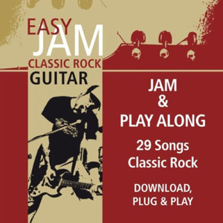 easy jam cd classic rock guitar