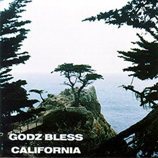 godz cd godz bless california front