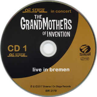 grandmothers of invention cd live in bremen label 1
