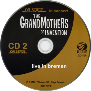 grandmothers of invention cd live in bremen label 2