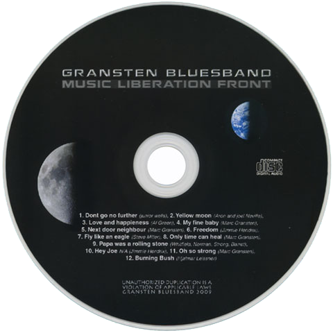 gransten blues band music liberation front label
