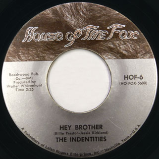 idendities single hey brother brown