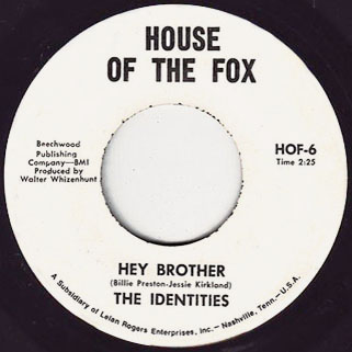 idendities single hey brother HOF-6 publishing