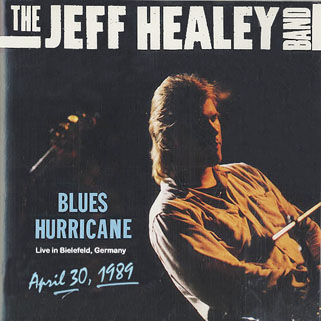 jeff healey cdr blues hurricane front