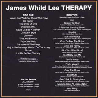 jim lea cd therapy 2009 back