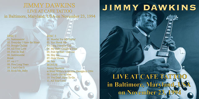 jimmy dawkins live at cafe tattoo cover