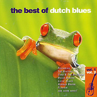 kaz lux and john schuursma cd best of dutch blues front