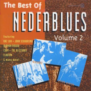 kaz lux and john schuursma cd best of nederblues front
