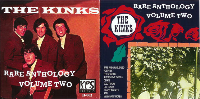 kinks cd rare anthology vol 2