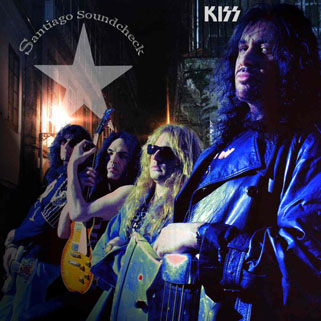 kiss cd santiago 1994 front