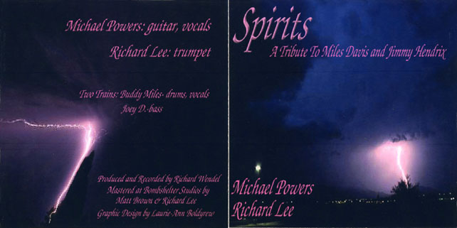 michael powers and richard lee cd spirits out