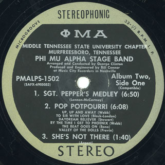 phi mu alpha stage band album label 1