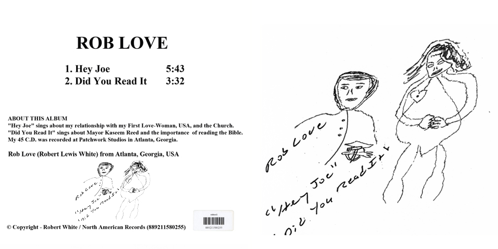 rob love single hey joe cover out