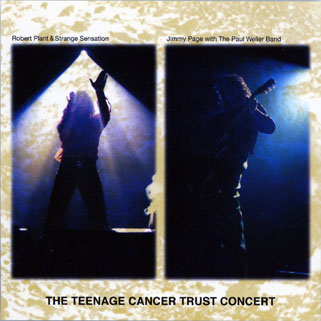 robert plant cd teenage cancer concert front