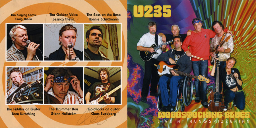 u235 cd woodstocking blues cover out